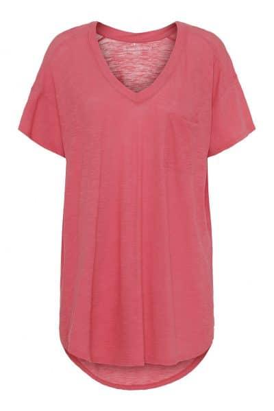 Dreamy t-shirt sunkst coral fra moshi moshi mind.