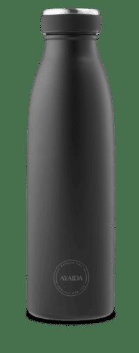 Matte black drikkeflaske fra ayaida