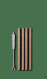 Reuseable short straw - rose gold fra ayaida.