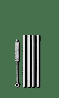 Reuseable short straw - silver fra Ayaida.