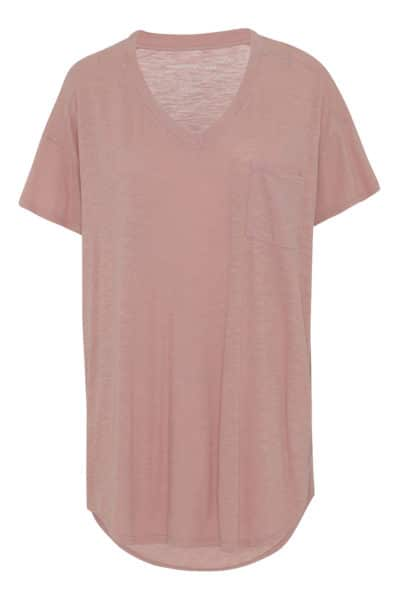 Dreamy t-shirt rose tan fra moshi moshi mind.