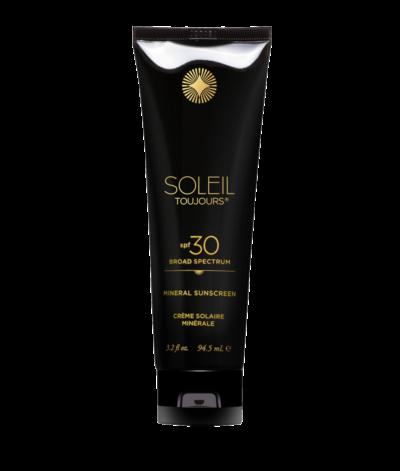 Mineral sunscreen spf 30 fra Soleil toujours